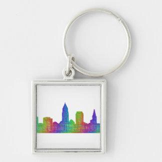 Cleveland-Skyline Schlüsselanhänger