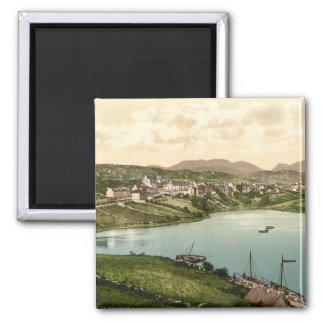 Clifden, Landkreis Galway, Irland Quadratischer Magnet