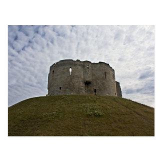 Cliffords Turm - York, England Postkarte