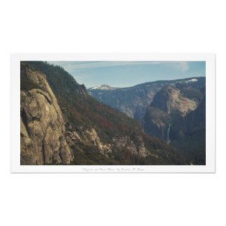 """""""Cliffsides und Fluss-Fahrten,"""" Yosemite-Natur Foto"""