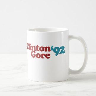 Clinton Gore 1992 Kaffeetasse