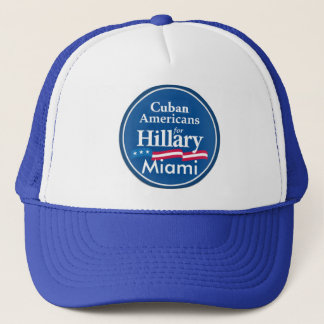 Clinton-KUBANER-MIAMI-Hut Truckerkappe