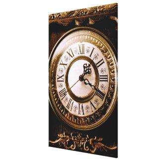 Clock Vintage Gespannter Galeriedruck