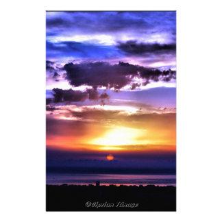Clours Sonnenaufgang Personalisiertes Druckpapier