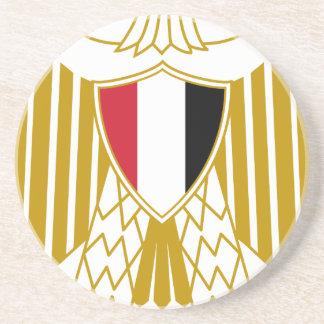Coat_of_arms_of_Egypt_ (offiziell) Getränkeuntersetzer