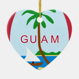 Coat_of_arms_of_Guam Keramik Ornament