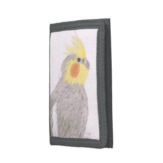 Cockatiel-Kunst-Geldbörse