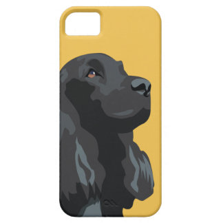 Cockerspaniel - Schwarzes - grundlegende iPhone 5 Cover