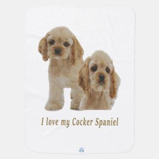 Cockerspaniel-Spaniels Baby-Decken