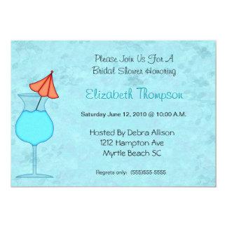 Cocktail-Brautparty-Einladung 12,7 X 17,8 Cm Einladungskarte