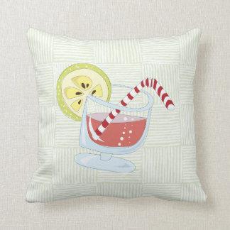 Cocktail pattern kissen