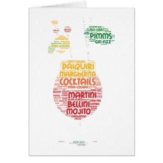 Cocktailglas Karte