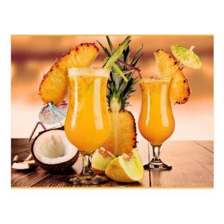 Cocktails Postkarten