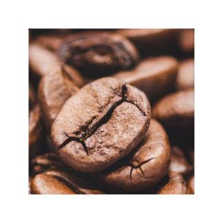 Coffee Beans - Kaffee Bohnen Leinwand Druck