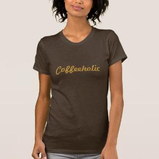 Coffeeholic lustiger Kaffee-Liebhaber T-Shirt