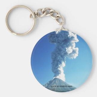 Colima-Vulkan, Jalisco, Mexiko Schlüsselanhänger