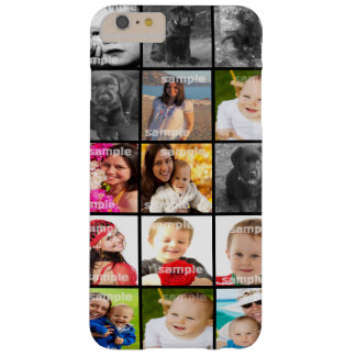 Collage schaffen Ihre eigene personalisierte Barely There iPhone 6 Plus Hülle