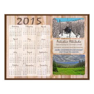 Colorado 2015 jährlicher zazzle Promokalender Flyer