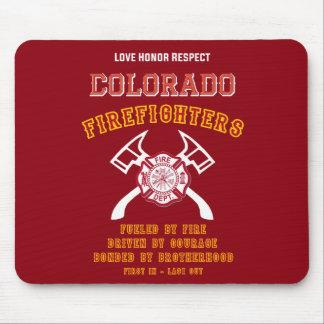 Colorado-Feuerwehrmänner Mousemat Mauspad