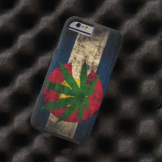 Colorado-Flaggen-Topf-Blatt Tough iPhone 6 Hülle