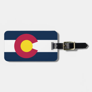 Colorado-Staats-Flagge Adress Schild
