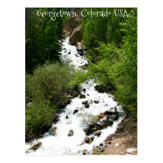 Colorado-Wasserfall Postkarte