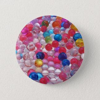colore Gelee-Ballbeschaffenheit Runder Button 5,7 Cm