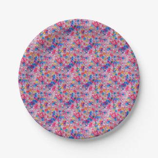colore Wasserbälle Pappteller