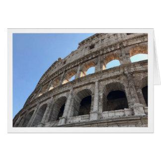 Colosseum Gruß-Karte Karte
