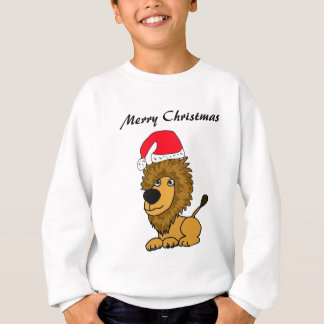 COLUMBIUM frohe Weihnacht-Löwe-Shirt Sweatshirt
