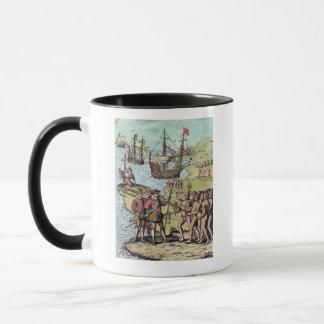 Columbus bei Hispaniola Tasse