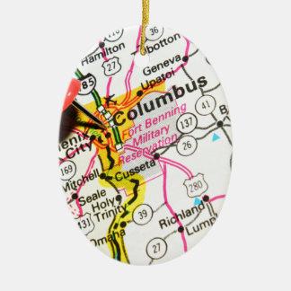 Columbus, Ohio Keramik Ornament
