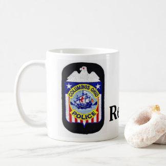 Columbus-Polizei-Ruhestands-Tasse Kaffeetasse