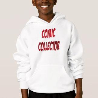 Comic-Kollektor-Rot Hoodie