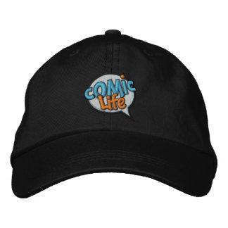 Comic-Leben gestickte Kappe Bestickte Caps