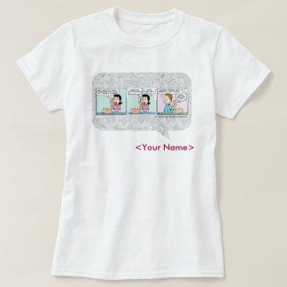 Comic-Streifen-Entwurf GARFIELDS täglicher T-Shirt