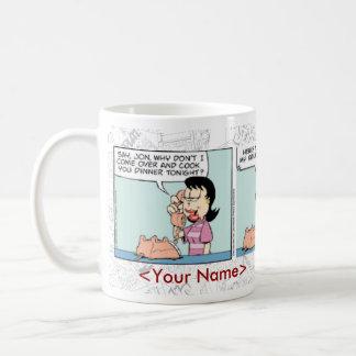 Comic-Streifen-Tasse GARFIELDS tägliche Tasse