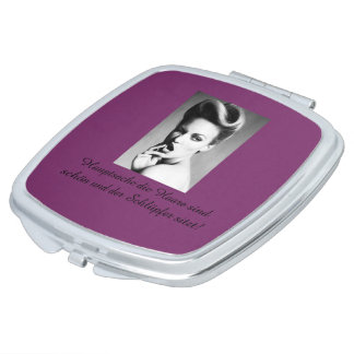 compact mirror for individualistic ladies schminkspiegel