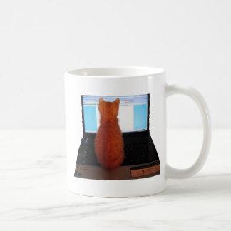 Computer-Kätzchen Tasse