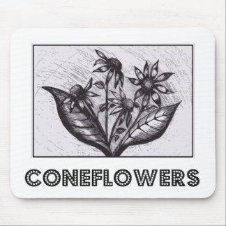 Coneflowers Mousepads