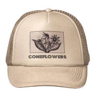 Coneflowers Retromützen