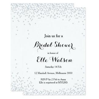 Confetti-Brautparty-Einladung 12,7 X 17,8 Cm Einladungskarte