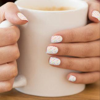 Confetti-Nagelkunst Minx Nagelkunst