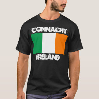 Connacht, Irland mit irischer Flagge T-Shirt