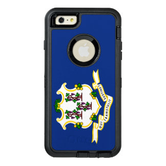 Connecticut-Flagge Otterbox DFND Iphone 6 Plusfall OtterBox iPhone 6/6s Plus Hülle