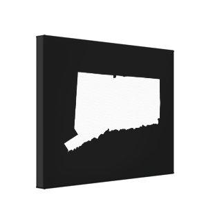 Connecticut im Weiß und im Schwarzen Galerie Faltleinwand