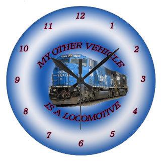 Conrail andere Fahrzeug-Uhr Große Wanduhr