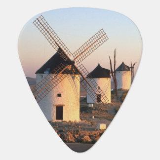 Consuegra, La Mancha, Spanien, Windmühlen Plektrum