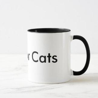 Cool für Katzen-Tasse Tasse
