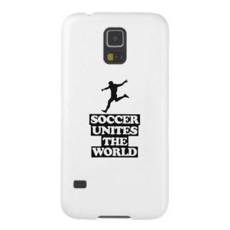 cool und Fußball ENTWÜRFE neigend Hülle Fürs Galaxy S5